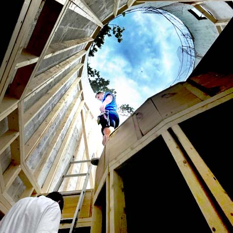 Flames devour a 110-year-old house in Aulne early Tuesday afternoon. Dark smoke from the fire could be seen in Marion. Marion, Peabody, and Hillsboro firefighters worked to contain the blaze as the building collapsed in sections.