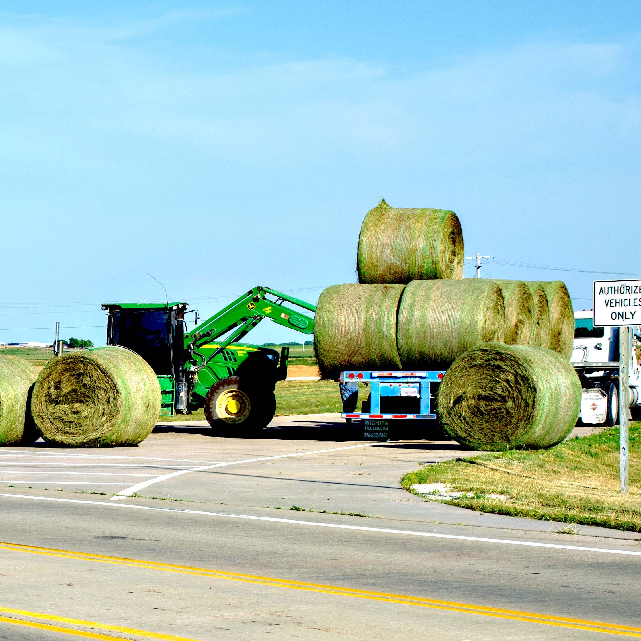 Shelby Felvus spikes against Trinity Catholic Saturday at the HOA league tournament in Marion.