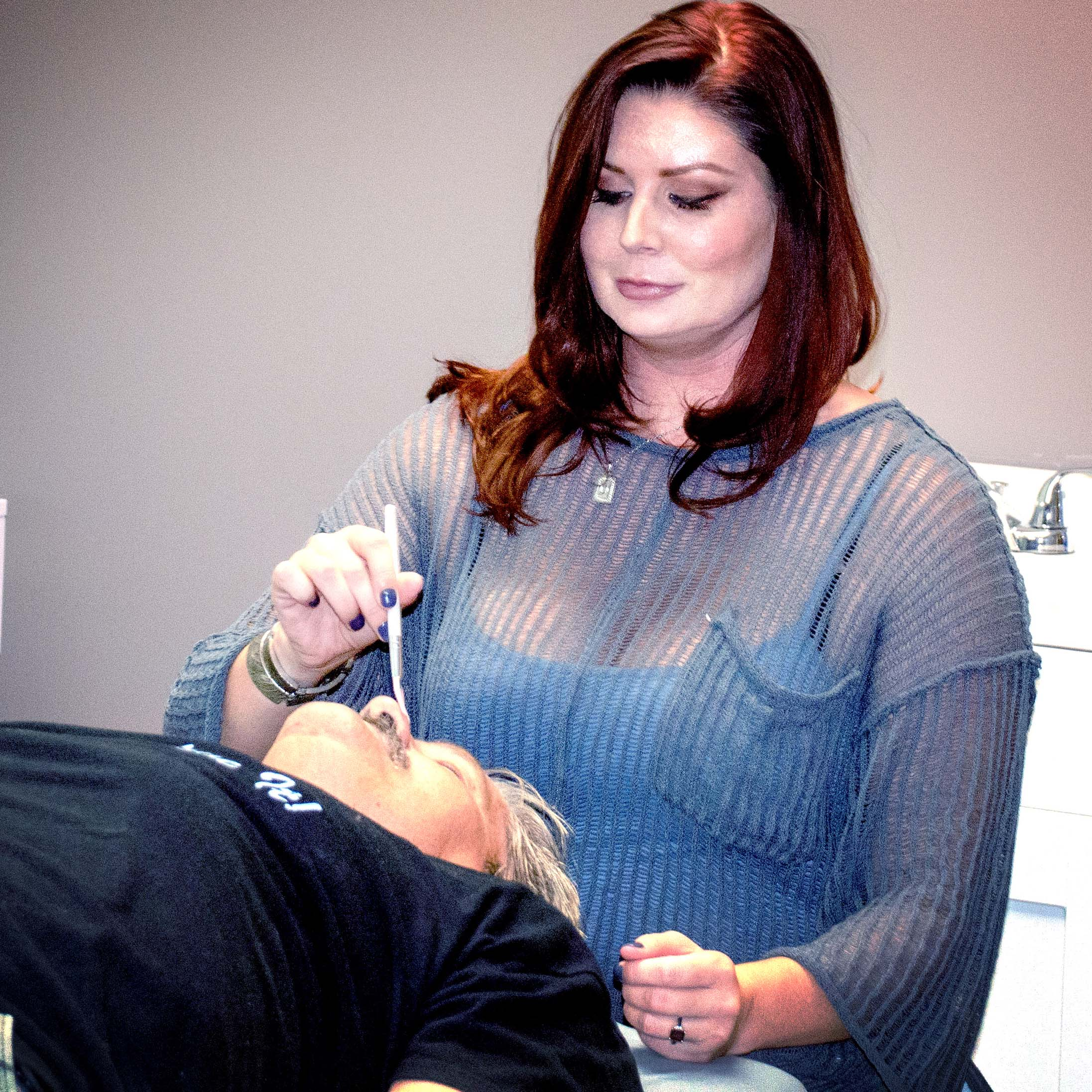 Wearing memorabilia Thursday at Marion Senior Center's St. Patrick's Day celebration were, from left, Janet Bryant, Barb Hardin, Lucille Bitner, Beth McGuire, and Roger Bitner.